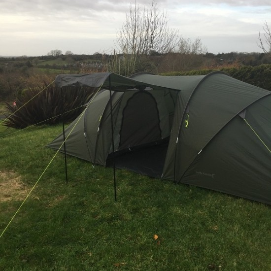 Clann - 6 Person tent - Porch Opened