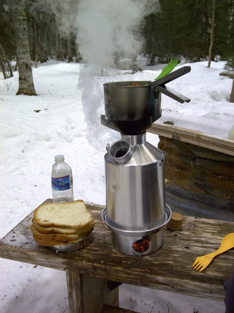 Aluminum 'Base Camp' Kettle Full Kit
