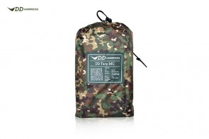DD Tarp 3x3 mtr. - MULTICAM     Completely waterproof, even in the heaviest storms.
