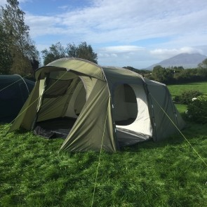 'Family' - 5 Person Tent (Full Height With Large Living Area)