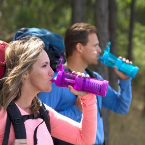 Journey™ Water Bottle with Filter - Blue - REMOVES: Bacteria, Virus & Cryptosporidium - Filters 946ltrs (NEW TO MARKET - EARLY BIRD DISCOUNT)
