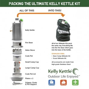PRE-ORDER NOW: Ultimate 'Scout' Kit (Stainless steel) - VALUE DEAL. ORDER WILL SHIP AFTER 22nd OCT.