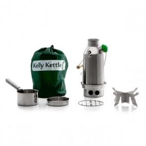 New Model Stainless Steel 'Trekker' Kelly Kettle® - Basic Kit