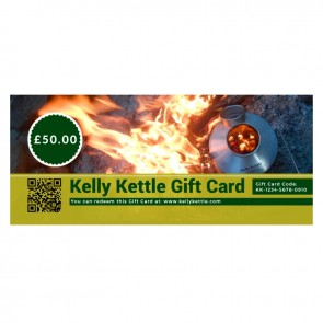 Kelly Kettle Gift Card