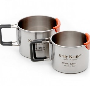 Camping Cups (350 & 500ml) Stainless Steel