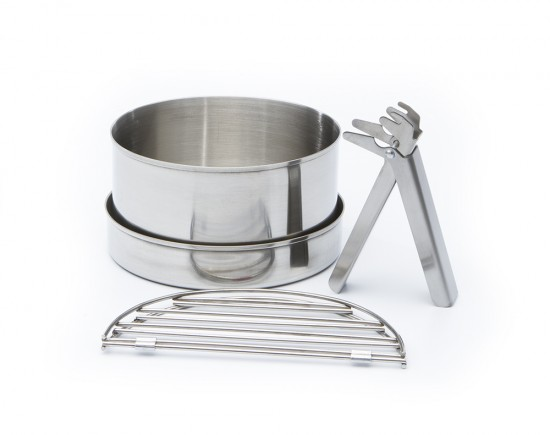 Cook set for Basae Camp or Scout Kelly Kettle