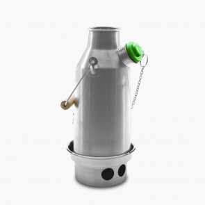 Stainless Steel 'Trekker' Kelly Kettle (0.6ltr) - Basic Kit (New Model)