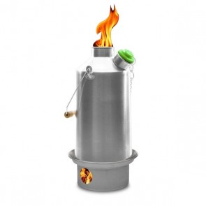'Base Camp' 1.6 ltr (Stainless Steel) + Whistle