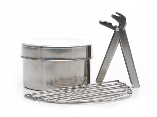 Cook Set (Stainless Steel) for Trekker Model