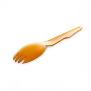 Spork - Orange  (Dishwasher Safe / BPA Free)