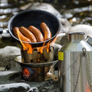 Using the Kelly Hobo Cook Stove