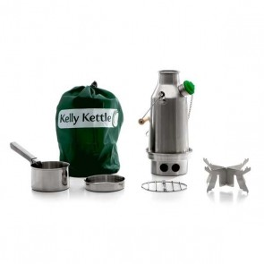 New Model Stainless Steel 'Trekker' Kelly Kettle® - Basic Kit