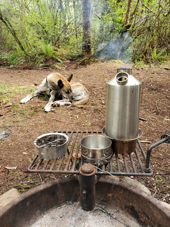 I love my Kelly Kettle and the PNW!