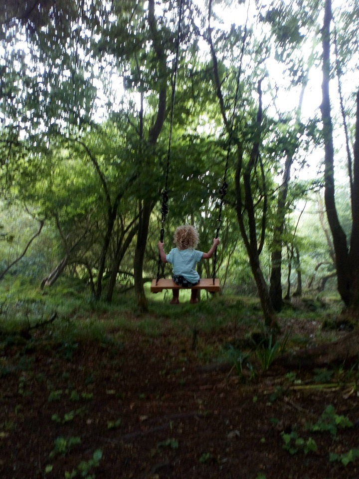 This is my little girl at forest school. The only thing missing Is a Kelly kettle.