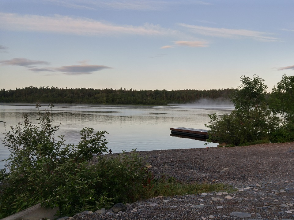 This is Mowat's landing in northern Ontario Canada on the Montreal River about 6 hours North of Toronto. Sure could have used a cup of fresh coffee after the 6:30 am start. #wherewouldyouuseyours