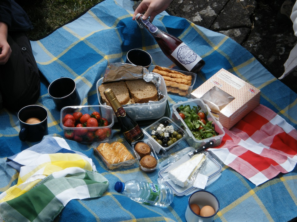 Memories of a perfect picnic on a perfect day.  Would have been even more memorable with a nice hot cup of tea made on a Kelly Kettle!  #WhereWouldYouUseYours