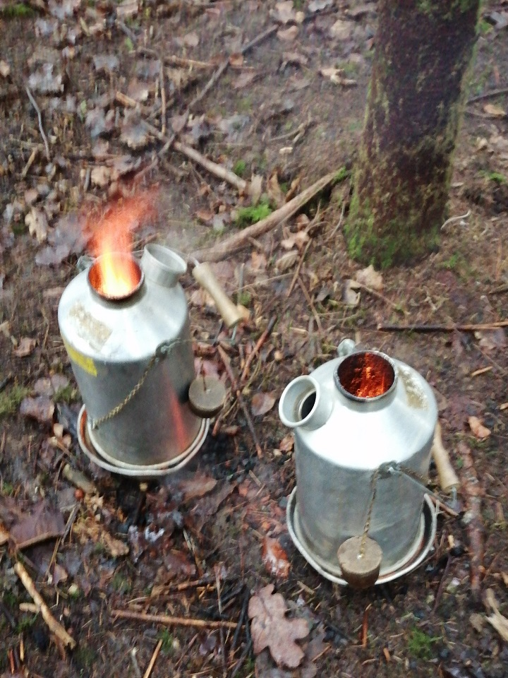Today was my students first time coppicing and to make the day even more memorable we got the water boiling for our hot chocolate.