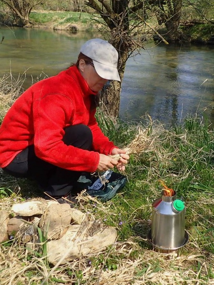 Testing Kelly Kettle Scout 800 Ultra Fast on our favourite Canoe Camping Island