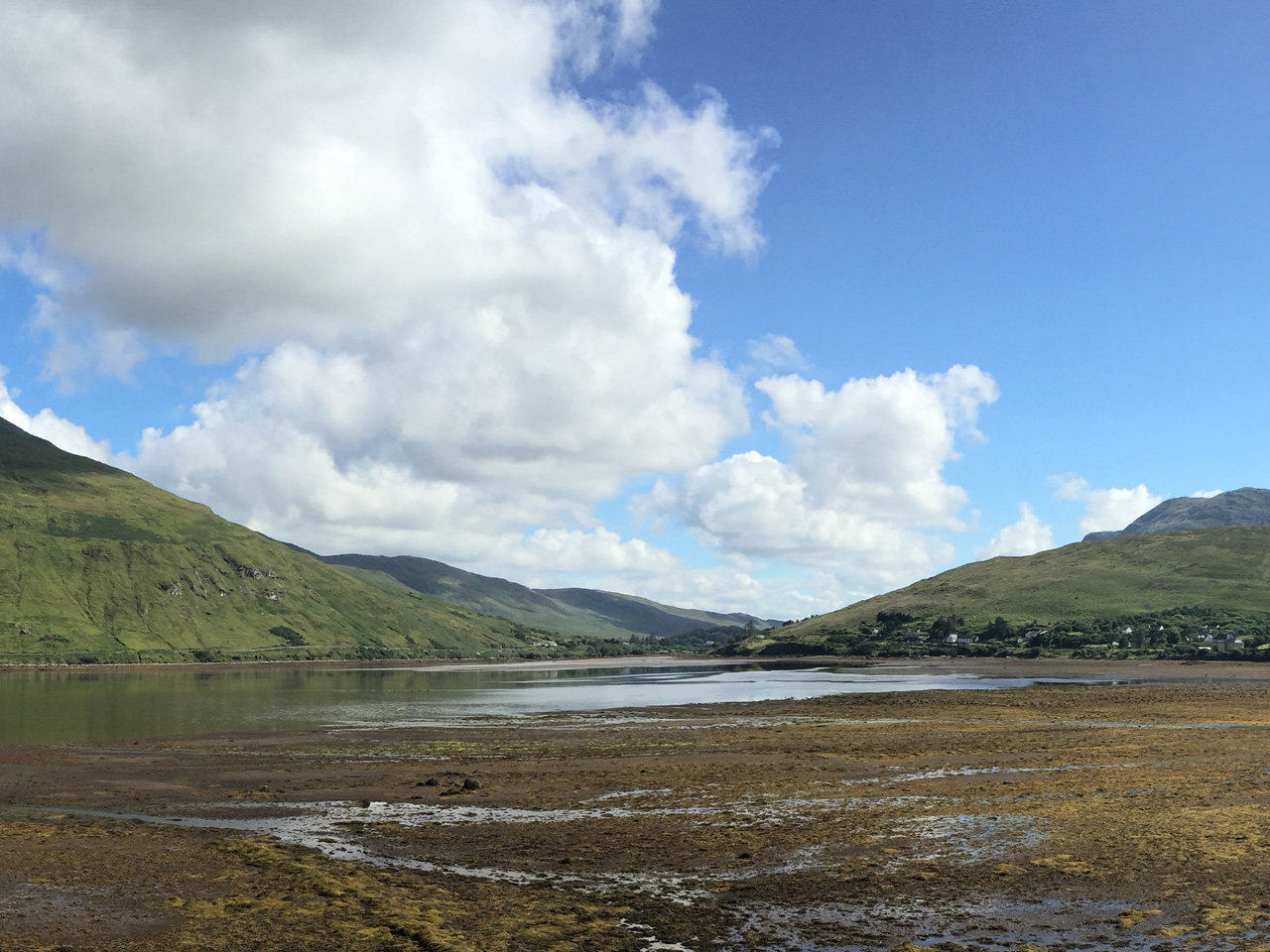 Leenane, Co. Mayo. The tide is out!