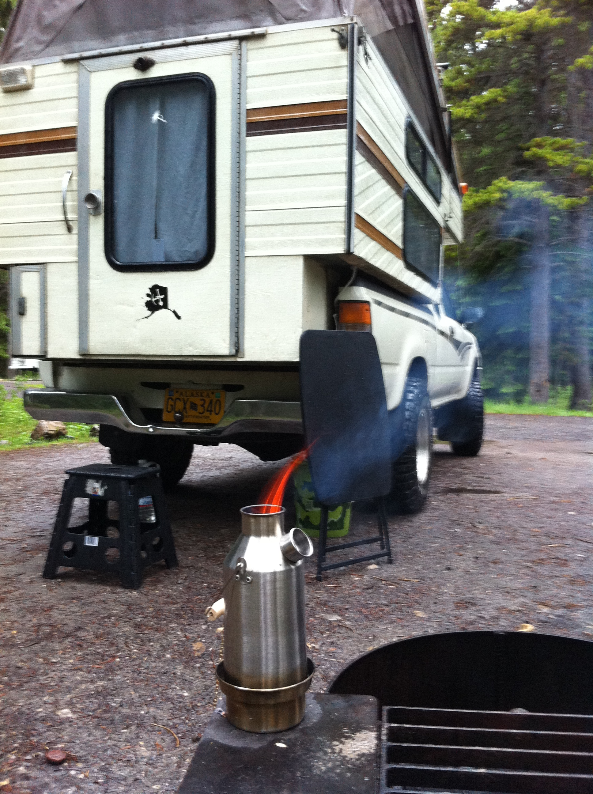 Camper Van & Kelly Kettle