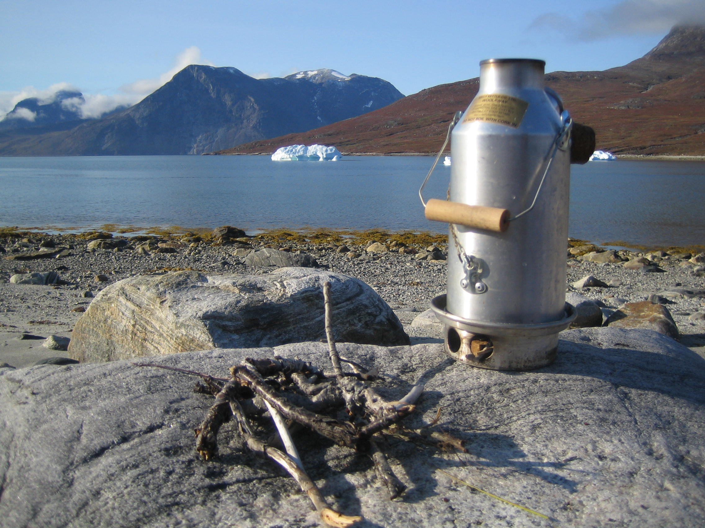 Kelly Kettle in Greenland (1 Pint)