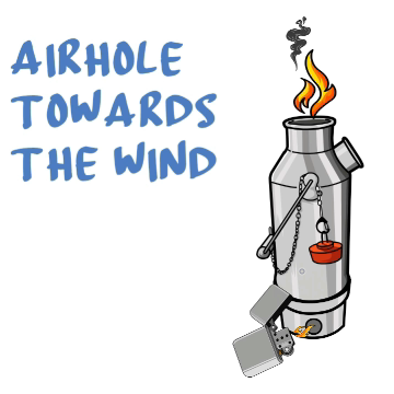 Face Airhole Toward the Wind for Draft
