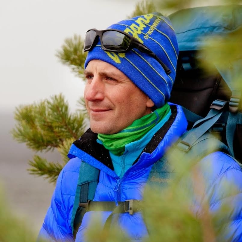Sören Kjellkvist Sweden Professional Adventurer & Environmental Campaigner