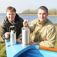 Seamus and Patrick Kelly, Directors of the Kelly Kettle Co.